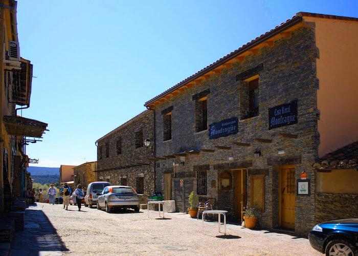 Pueblo cerca de monfragüe